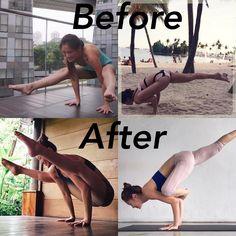 いいね!1,947件、コメント44件 ― Jasmine Chong さん(@jasmine_yoga)のInstagramアカウント: 「#Progress : #Armbalance - #galavasana & #titibhasana Armbalance might be something you're working…」