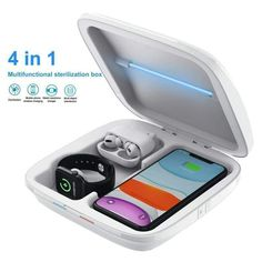 New UV Sanitizer For your Family (kill 99.99%  Germs)! #Uvsanitizer #UVSoap #PhoneSoap Apple Watch 1, Airpods Apple, Portable Mobile, Smartphone, Clean Phone, Body Cells, Cleaning Equipment, Medical Equipment, Mobiles