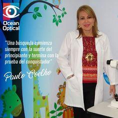 """Una búsqueda comienza siempre con la suerte del principiante y termina con la prueba del conquistador"""" -Paulo Coelho-  #Manta #DraKathyDeRugel #OptometríaClínica #OptometríaPedriática #Contactología #BajaVisión #Queratocono #Miopía #PrótesisOculares #TerapiaVisual #SaludOcupacional #BrainGYM #OBO"""
