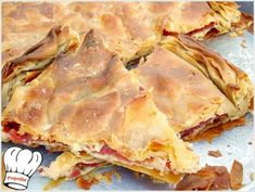 Bacon Pasta, Spinach Pasta, Spanakopita, Greek Recipes, Recipies, Sweet Home, Food And Drink, Snacks, Eat