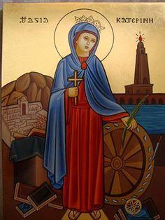 القديسة كاترين الأسكندرانية