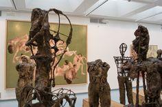 """Wie in der Ausstellung Gatzemeier """"Jüngster Friede"""" im Kunstverein Siegen zu betrachten, eine gänzlich andere Wirkung entfalten als einzeln gezeigt."""
