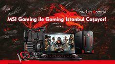 En yüksek performanslı oyun donanımları, meşhur yayıncılar, HWA Gaming espor takımı, Cosplay yarışmaları ve ödüllü LoL, HearthStone, CS:GO turnuvalarıyla MSI, Logitech ve NVIDIA ile beraber fuarın en eğlenceli standını sunuyor. 4 Şubat 2016, İstanbul, Türkiye - Bu yıl ilki düzenelenen Gaming İstanbul fuarı bugün kapılarını açtı. 7 Şubat tarihine kadar İstanbul Kongre Merkezinde gerçekleşecek fuarda oyun donanımında lider marka olarak MSI, en yeni notebook, anakart, ekran kartı ve All in One…