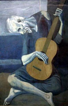 The Old Guitarist - Piccasso