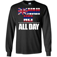 Hawaii Nei ALL DAY LS Ultra Cotton Tshirt