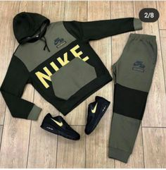 Dope Outfits For Guys, Stylish Mens Outfits, Cool Outfits, Fashion Outfits, Mens Fashion, Adidas Outfit, Nike Outfits, Kenza Farah, Nike Gear
