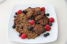 Ciasteczka meczowe - healthy plan by ann Breakfast Cookies, Cereal, Healthy, Sweet, Desserts, Recipes, Food, Dali, Euro