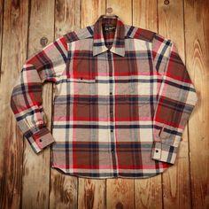 1937 Roamer Shirt flannel brown