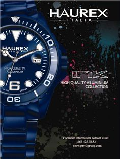 Haurex invites you to come for a close-up look at our newest fashion forward designs at Baselworld 2012.