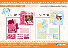 Os kits de #scrapbook da Toke e Crie encantam e inspiram ;)