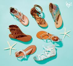 Sandals that stay in step with so-now looks in metallic, soft faux suede, ocean-inspired ombre and more!