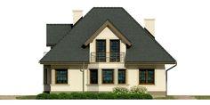 DOM.PL™ - Projekt domu Dom przy Sielskiej 2 CE - DOM EB2-85 - gotowy koszt budowy 1 Story House, Home Fashion, House Design, Cabin, How To Plan, House Styles, Home Decor, Decoration Home, Room Decor