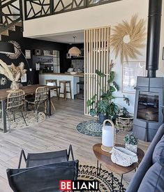 Bohemian Decor Trend and Ideas Living Room Designs, Living Room Decor, Design Living, Style At Home, Black Floor Lamp, Living Room Remodel, Lounge Areas, Home Fashion, Bohemian Decor