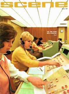 Southwestern Bell telephone operators in Springfield, Missouri, 1967