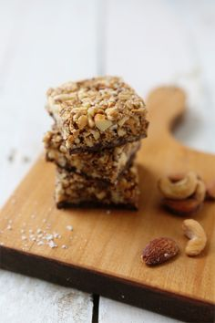 sweet and salty snack bars from @Shaina Olmanson | Food for My Family