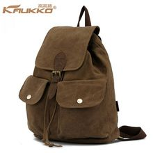 2015 New Arrival Unisex Daily Backpack Softback String Flap Pocket Preppy Style Canvas Travel Bags Girls Backpacks