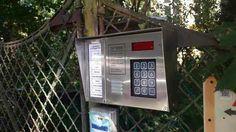 DP3000 digitális kaputelefonok beépitett proxy kártya olvasóval már rozsdamentes kivitelben is!