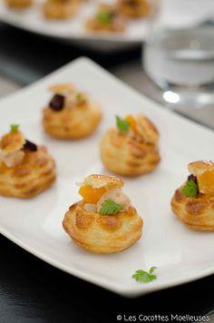 Les Cocottes Moelleuses: Les bouchées apéritives au foie gras et légumes an...