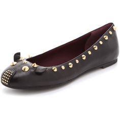 stud mouse flats by marc jacobs