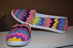Paint your own shoes!