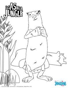 Pinterest le catalogue d 39 id es - Coloriage as de la jungle ...
