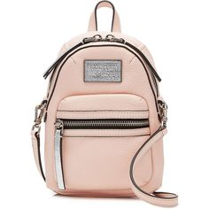 Marc by Marc Jacobs Domo Cross Biker Bag (2.989.135 IDR) ❤ liked on Polyvore featuring bags, handbags, shoulder bags, rose, cross body, pink cross body purse, cross body shoulder bag, crossbody purse and pink shoulder bag
