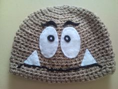 Items similar to Super Mario Goomba Crocheted Hat on Etsy Crochet Super Mario, Crochet Videos, Diy Arts And Crafts, Learn To Crochet, Little Man, Yarn Crafts, Crocheting, Crochet Patterns, Crochet Hats