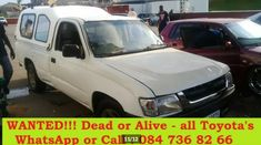 "We buy cars and bakkies ""alive and dead"" countrywide Junk Mail, Car Buyer, Cars, Autos, Car, Automobile, Trucks"