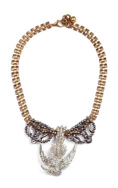 50 Year Necklace Featuring Vintage Parts From 1860-1960 by Lulu Frost - Moda Operandi