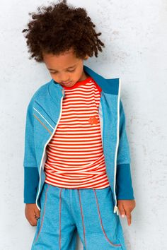 Blue Calle jacket - Albababy