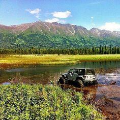Jeep in Alaska