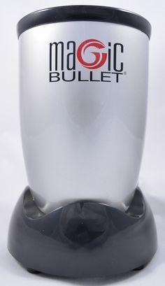 Magic Bullet Replacement Power Base Motor w/Cord 250W NEW w/Free Recipe Book #AsSeenOnTV