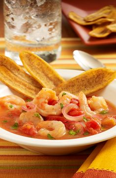 This Ecuadorian-Style Shrimp Ceviche recipe is made with traditional flavors of red onion, lime juice and cilantro with orange juice added for a refreshing citrus flavor Ceviche Recipe, Shrimp Ceviche, Orange Juice, Lime Juice, Winter Recipes, Winter Food, Cilantro, Thai Red Curry, Casseroles
