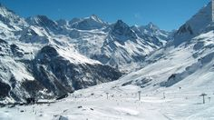 Home to five small unspoilt resorts, the Val d'Anniviers area is gaining recognition thanks to the recent cable car link between the two biggest, Grimentz and Zinal