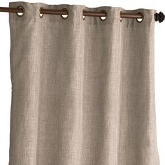 "Shimmer Taupe 84"" Curtain"