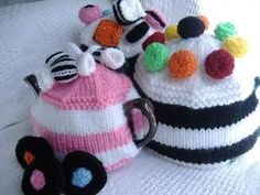 Sweet Treats Tea Cosy Knitting Patterns