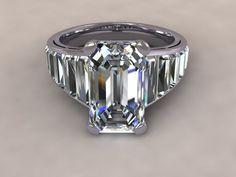 Angelina Jolie replica engagement ring www.diamondgeezer.com