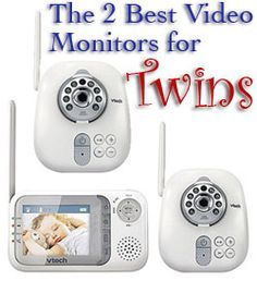 The two best video monitors for twins