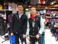 【大阪店】2015.03.15 スナップ撮影に快くご協力頂ありがとうございます!!KGのウルブス復帰はビッグニュースでしたね(^^)//またKG商品が入荷したらご案内しますね!