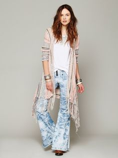 Free People Act of Love Hooded Cardigan at Free People Clothing Boutique