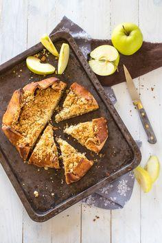 Apple Pie - Tarte Rustique aux Pommes façon Crumble