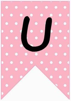 Hello Kitty temalı bir kutlamada kullanabileceğiniz doğum günü harflerini A4 kağıdına 1 tane olacak şekilde bastırıp, beyaz bir kurdeleye...