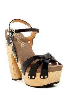 Flogg Rainbow Platform Sandal