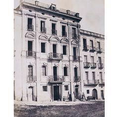 Cagliari, Hôtel du Progrès, 1854