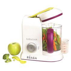 Beaba Babycook Food Blender and Steamer, Purple