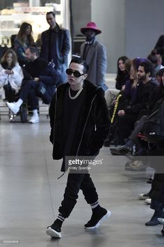 G-Dragon attends the Vetements Spring Summer 2017 show as part of Paris Fashion Week on January 24, 2017 in Paris, France.