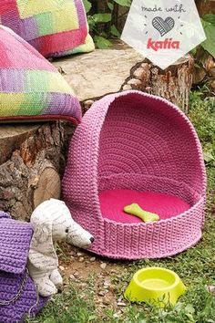Gato Crochet, Knit Or Crochet, Crochet Gifts, Stuffed Animal Patterns, Diy Stuffed Animals, Knitting Accessories, Pet Accessories, Cotton Cord, Dog Items