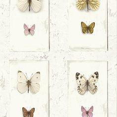 Hooked on Walls Splendour behang SD2001 Vlinders
