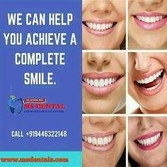 MS Dental Implant Dentistry, Cosmetic Dentistry, Teeth Implants, Dental Implants, Oral Maxillofacial, Kovalam, Dental Hospital, Root Canal Treatment, Smile Design