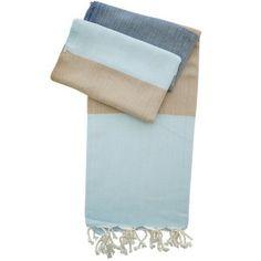 Hamamtuch James blau - handgewebt - neue Pestemal-Kollektion. Turkish Towel Alexa from our new collection